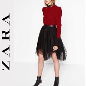 Zara Layered Tulle Skirt 🖤